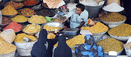 Market in Lahore