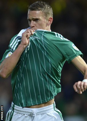 An early goal by Dean Shiels was reward for Northern Ireland's bright start against Luxembourg