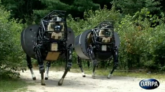 Robot dogs join the US army