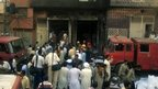 The shoe factory that burned down in Pakistan's Lahore on 11 September 2012