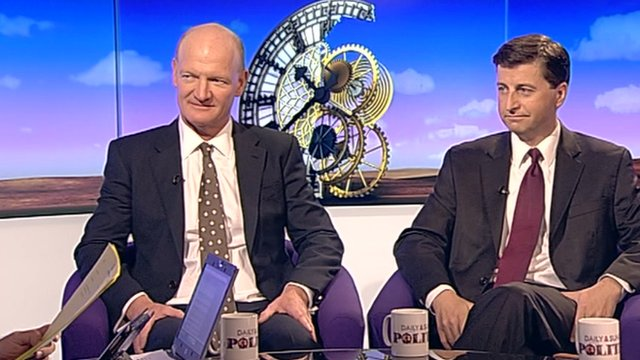 David Willets and Douglas Alexander