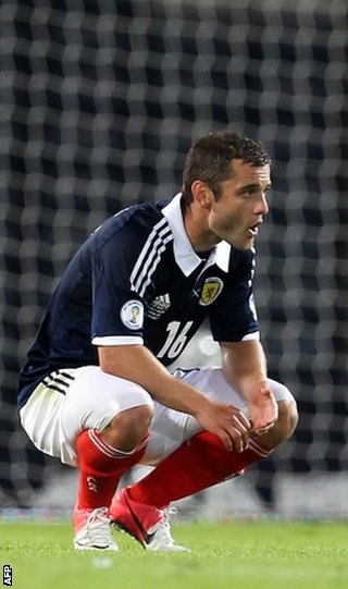 Scotland's Shaun Maloney