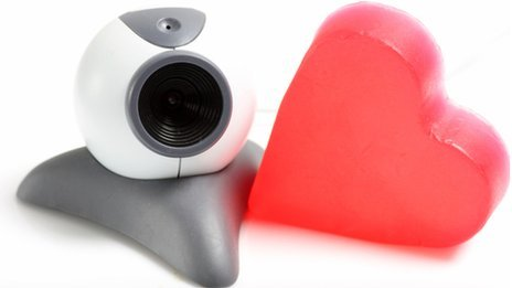 Webcam and a heart