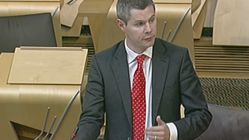 Local Government and Planning Minister Derek Mackay