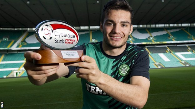 Celtic forward Tony Watt