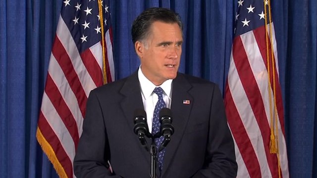 Mitt Romney speaks on Libya