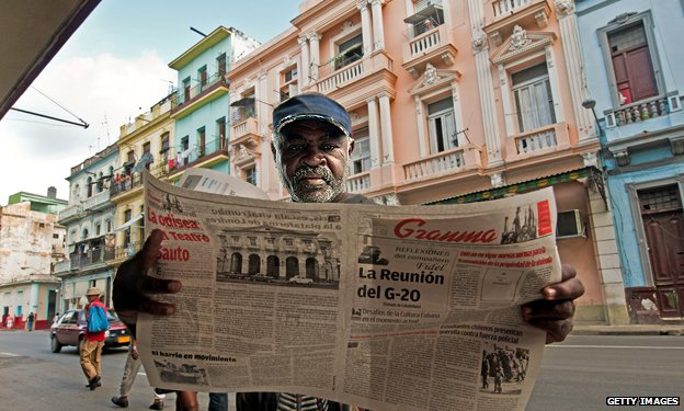62857690 cuba newspaper 2011 g2 Top 10 Countries With Strict Media Censorship