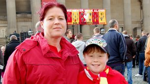 Maxine Joyce and her son Ethan