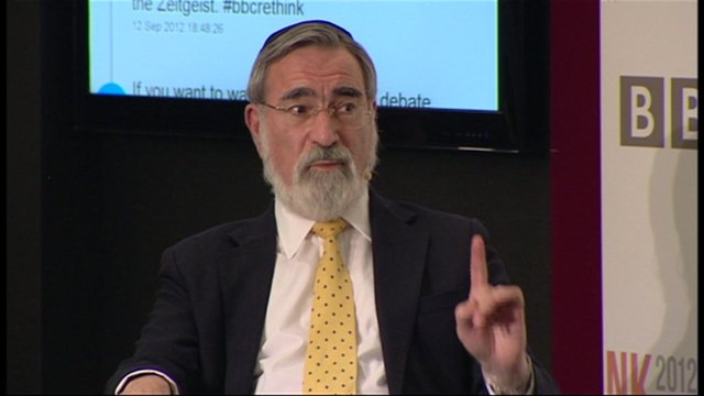 Chief Rabbi, Lord Jonathan Sacks