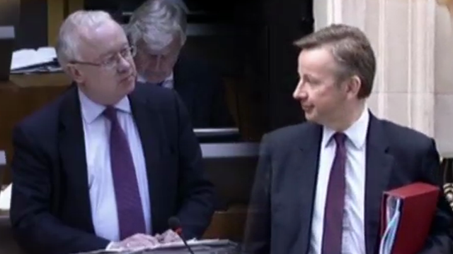 Leighton Andrews AM and Michael Gove MP