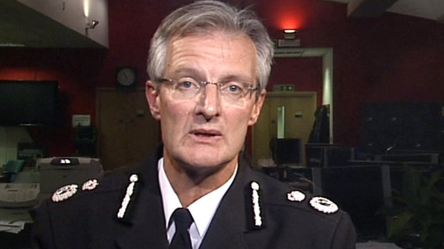 South Yorkshire Chief Constable David Crompton