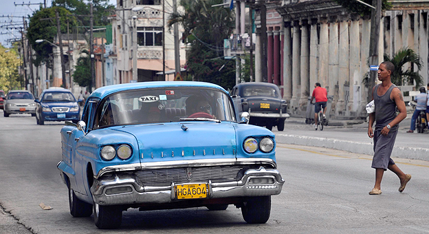 Taxi in old Havana
