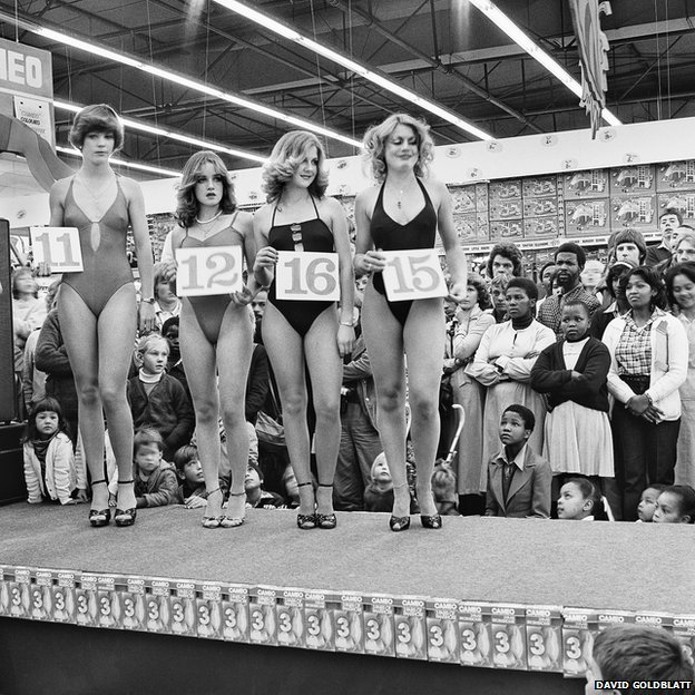 Semi-final of the Miss Lovely Legs competition