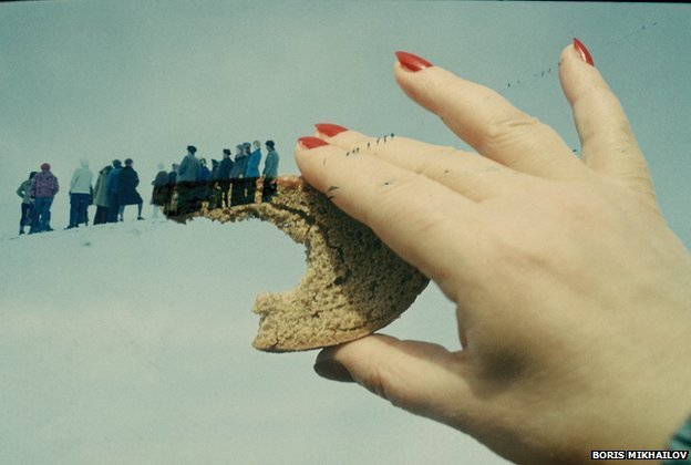Yesterday's Sandwich/Superimpositions by Boris Mikhailov