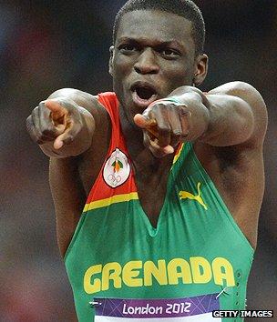 Runner Kirani James