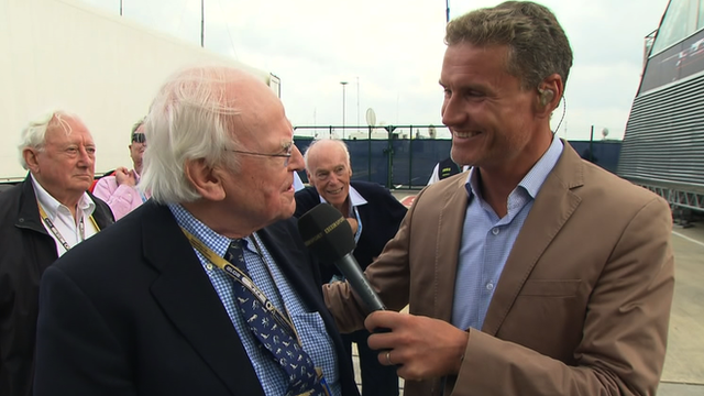 Professor Sid Watkins and David Coulthard