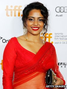 Actress Shahana Goswami at the film's screening in Toronto