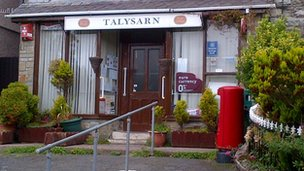 Talysarn post office