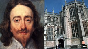 Charles I and St George's Chapel Windsor