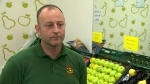 Noel Robert Harty - fruit and veg shop owner