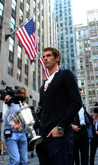 Murray has been the focus of attention since his US Open victory