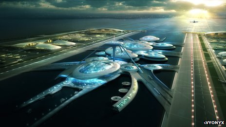Gensler design for estuary airport
