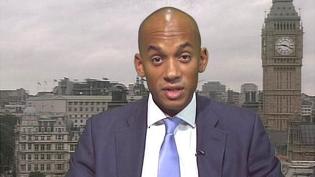 The Shadow Business Secreary, Chuka Umunna