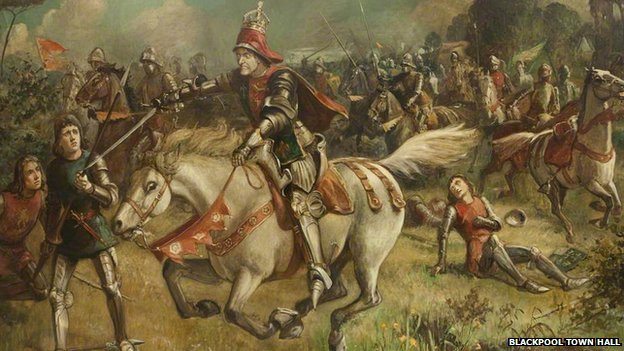 Final Horse Charge of Richard III at Bosworth Field