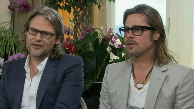 Andrew Dominik and Brad Pitt