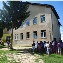 Kiseljak 1 school and Brestovsko school share a building