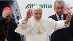 Pope's peace plea on Lebanon trip