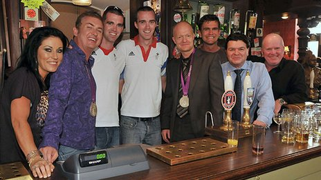 Cast of Eastenders.
