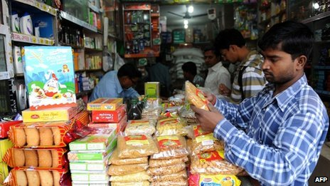 Indian store in Delhi, 24 Nov