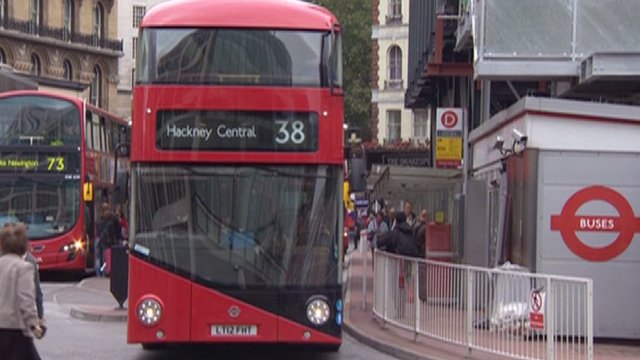 The new Routemaster-style bus in London