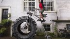 World&#039;s heaviest bicycle.