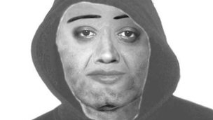 Efit of second offender issued by Gwent Police