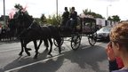 Tia Sharp's funeral procession