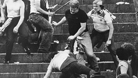 Football hooliganism in the 1980s