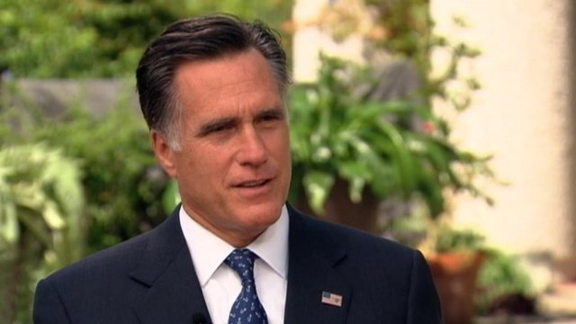 Mitt Romney on Good Morning America