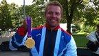 Craig Maclean, who won a cycling gold at the Paralympics