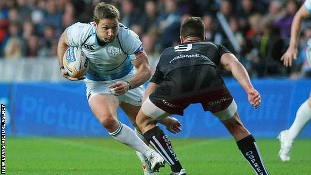 Glasgow Warriors scrum-half Chris Cusiter