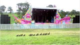 The Big Chill festival in Herefordshire