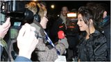 Cher Lloyd being interviewed by the BBC