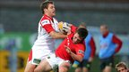 Darren Cave makes a crucial tackle on Luke O&#039;Dea as Ulster make it three wins out of three in the Pro12