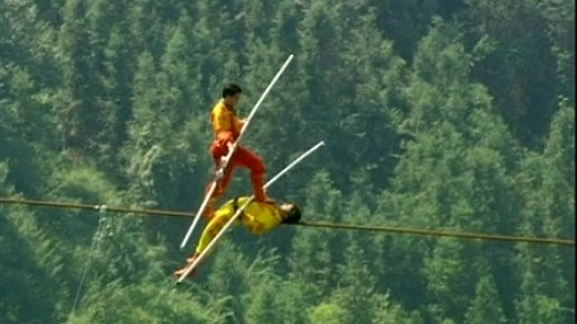 Tighrope walkers