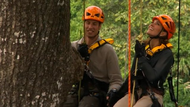 The Duke and Duchess of Cambridge in Borneo