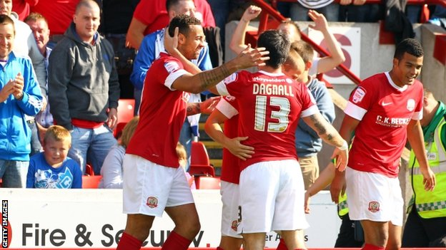 Barnsley celebrate
