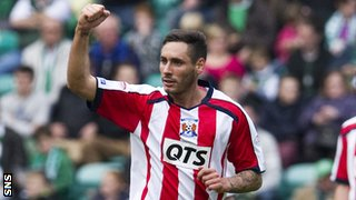 Kilmarnock midfielder Danny Racchi