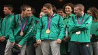 michael conlan, katie taylor and paddy barnes