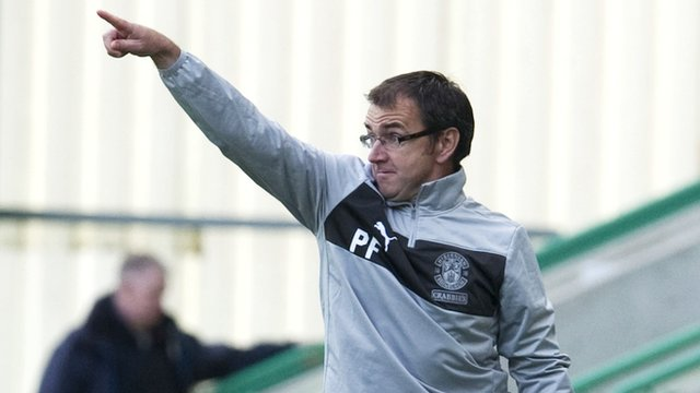 Hibernian manager Pat Fenlon